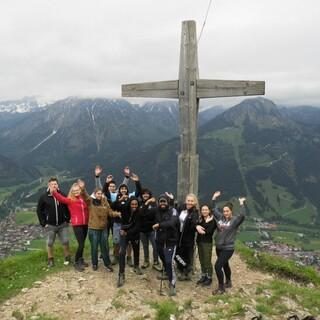 Azubitraining Gipfelbild; Foto: Jubi/Lena Peschke