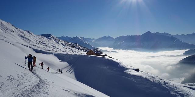 Aufstieg von der Hütte, Foto: JDAV/Markus Fleischmann
