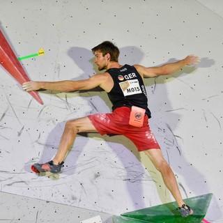 Jan Hojer ist einer der beiden deutschen Kletterer, die noch auf einen olympischen Startplatz hoffen dürfen. Foto: DAV/Jorgos Megos