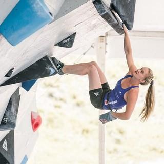 3. Boulderweltcup-Sieg für Shauna Coxsey