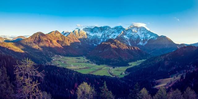 Neues Bergsteigerdorf: Jezersko, Slowenien