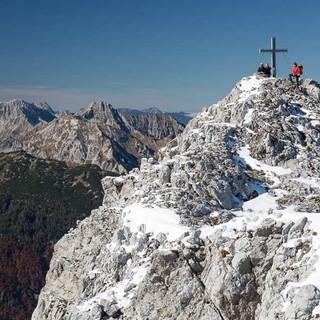 Großer Buchstein - Am Gipfel des Großen Buchstein – ein weiteres Gipfel-Highlight.