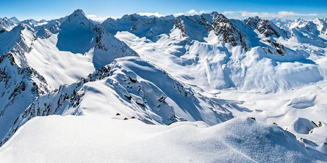 Sellrainer Berge im Winter, Foto: J. Pfatschbacher