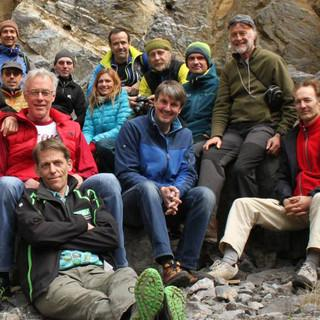 Kommission Klettern und Naturschutz - - kümmert sich um die Klettergebiete. Foto: DAV/Reich