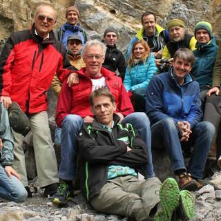 Kommission Klettern und Naturschutz - Kümmert sich um die Klettergebiete. Foto: DAV/Reich