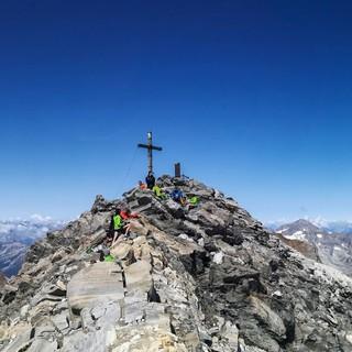 Hochalpine Touren sind von der Hochfeilerhütte aus kein Problem, Foto: Barbara Vigl