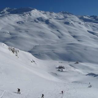 Möglichkeiten zum Skitourengehen sind genügend vorhanden! Photo: Josef Essl