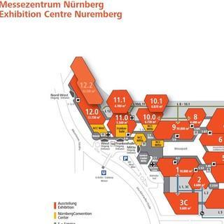 Messe Nuernberg Gelaendeplan 2018