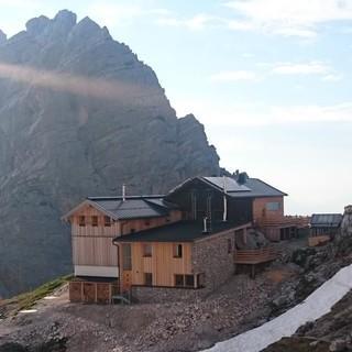 Passauer Hütte in den Leoganger Steinbergen