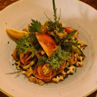 Die fertige Gemüsepasta, Foto: Anja Hangl