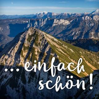 """Kampagne """"Danke Alpenplan"""". Sonntagshorn. Foto: Jörg Bodenbender"""