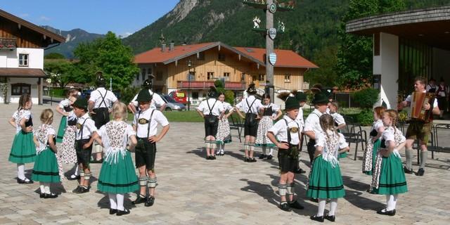Lebendiges Schleching. Foto: Touristik-Information Schleching