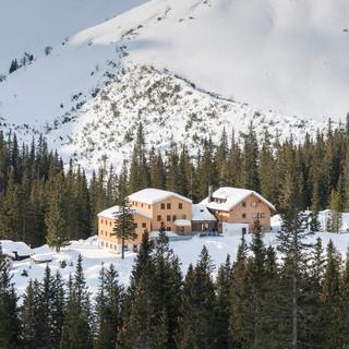 Lindauer Hütte, Foto: DAV/Simon Vorhammer