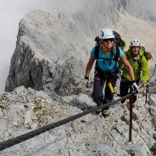 Hoch hinaus auf Zugspitze & Co. - wenn die Bedingungen es erlauben, Foto: Wolfgang Ehn