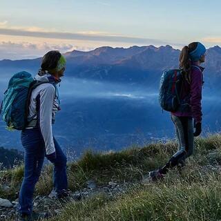 Tageserwachen: Der erste Wegteil zum Rocciamelone ist einfach und erlaubt auch mal einen Blick in die Landschaft. Foto: Stefan Neuhauser