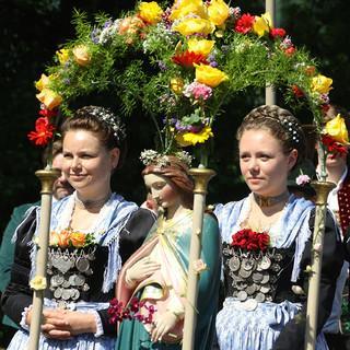 Bergsteigerdorf Schleching: Tradition und Brauchtum werden gepflegt.