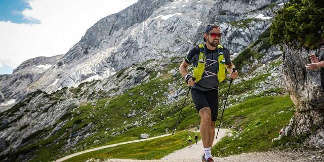Berglauf im Wetterstein, Foto: Roman Aha