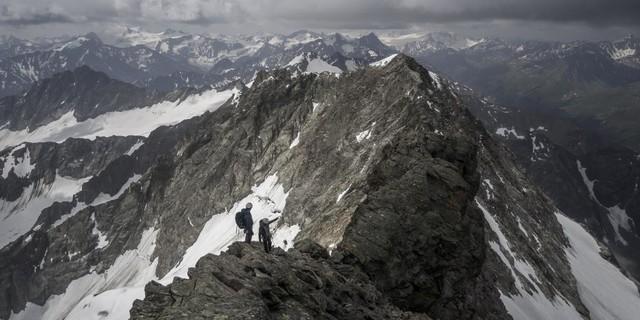 Das Wetter ist ein entscheidender Faktor auf Hochtour - auch das bekamen die Nachwuchsalpinisten zu spüren. Foto: DAV / Silvan Metz