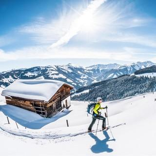 Skitour im Brixental. Foto: Servus TV