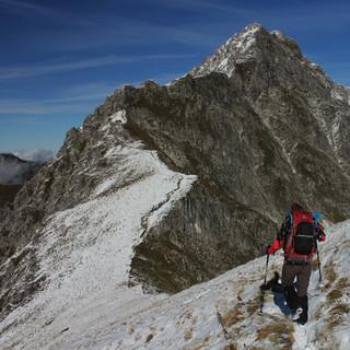Das vergangene Wochenende brachte oberhalb von 2200 m den ersten Neuschnee. Foto Pröttel