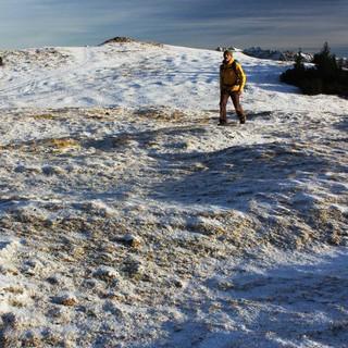 Auch der Wank dürfte sich zum Samstag hin wieder winterlich präsentieren. Foto: DAV/Pröttel