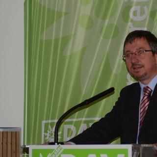 Ein motivierendes Grußwort von Stadtrat Christian Müller