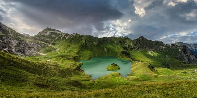 Schrecksee in den Allgäuer Alpen, Foto: Wolfgang Ehn