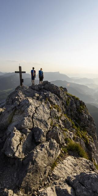 Ausblick von der Schärtenspitze auf das Bergsteigerdorf Ramsau. Foto: DAV/W. Ehn