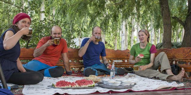 von links: Christine Fischer, Steffen Graupner, Matthias Müller, Kristina Kunze; Foto: Graupner Archiv