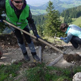 Trainee-Aktion Hochrieshütte 2016