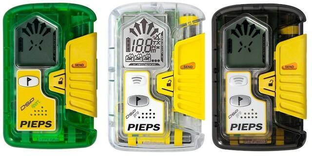 Die betroffenen Geräte der DSP-Serie: Sport, Pro Ice und Pro (hergestellt zwischen 2013 und 2020). Quelle: PIEPS