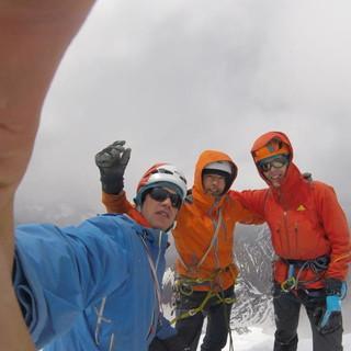 Gipfel erfolgreich erklommen.
