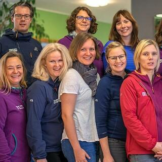 JDAV Team im Herbst 2018, Foto: JDAV/Silvan Metz