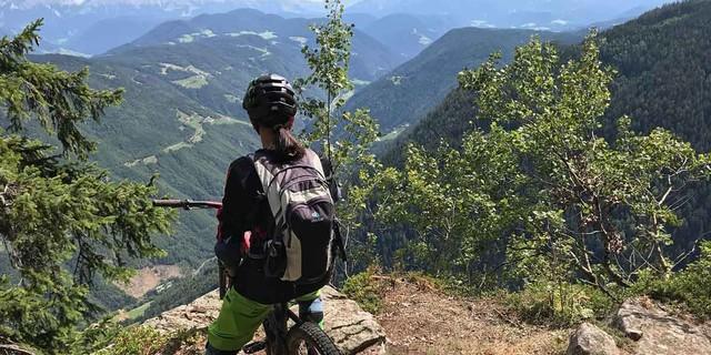 Ausblick in den Dolomiten, Foto: Alexandra Nieß