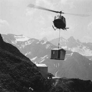 08.-Hoefats-Biwakschachtel im-Anflug-1969