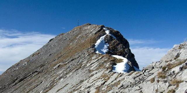 Rückblick zur Hochschrutte  Foto: Siegfried Garnweidner/alpenvereinaktiv.com