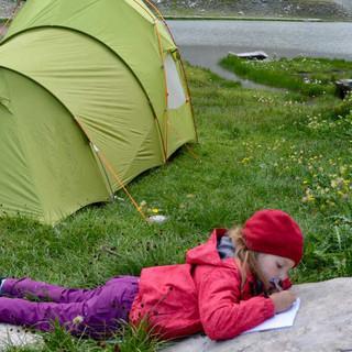 Im Queyras, einem Nationalpark in der östlichen Dauphiné, ist wildes Zelten erlaubt. Foto: Solveig Michelsen