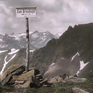 Bildergalerie: Wanderung durch die Stubaier Alpen um 1910