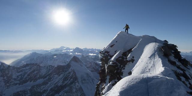 Erstbegehung Matterhorn, Foto: Alexander Huber
