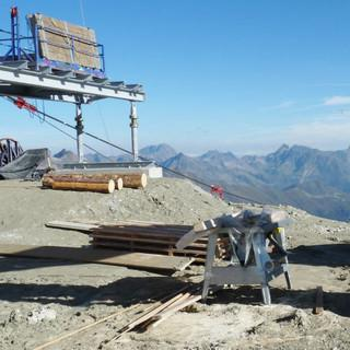 Ausbau des Skigebietes Ischgl am Piz Val Gronda