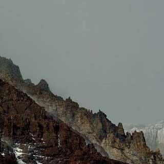 Punta Bariloche (Patagonien) - Westseite der Punta Bariloche am Paine Grande, Nationalpark Torres del Paine, Patagonien | Foto: Ralf Gantzhorn
