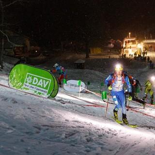 Die Spitzkehren-Passage des Sprints am Obersalzberg forderte letztes Jahr eine saubere Technik. Foto: DAV/Marco Kost