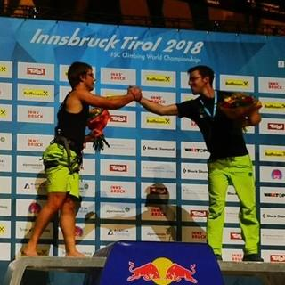 Paraclimbingweltmeister ihrer Kategorien