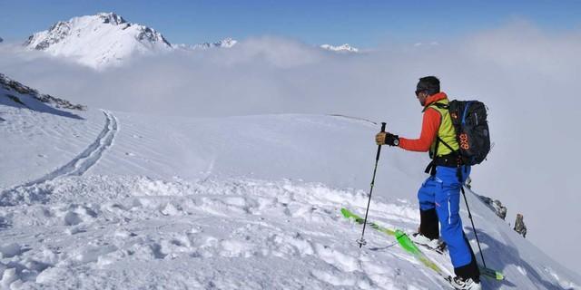 Durch die Mieminger Berge - Tag Zwei bringt auf wenig begangenen Pfaden durch die Mieminger Berge. Foto. Stefan Herbke