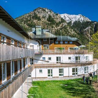 JDAV Jugendbildungsstätte in Bad Hindelang, Foto: JDAV/Simon Toblak