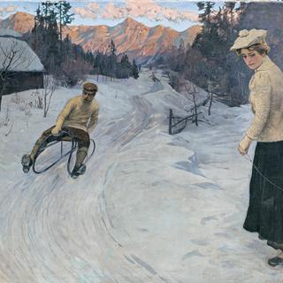 Gemälde von Gustav Jahn. © Landessammlungen Niederösterreich