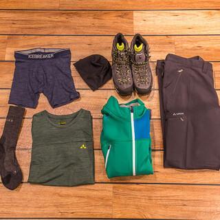 Die Kleidung muss vor allem funktional sein. Foto: DAV/Franz Güntner