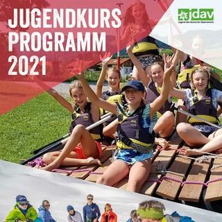 JDAV Jugendkursprogramm-2021 Cover web