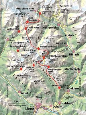 Wiener-Hoehenweg-Karte