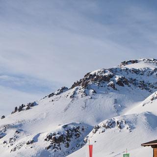 Sesvennahütte - Heim im Schnee: Die Sesvennahütte ist gut bewirtschaftet.
